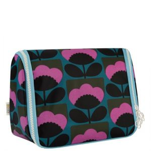 orla kiely large hanging wash bag