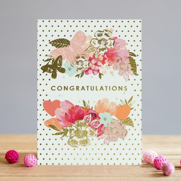 louise tiler congratulations card