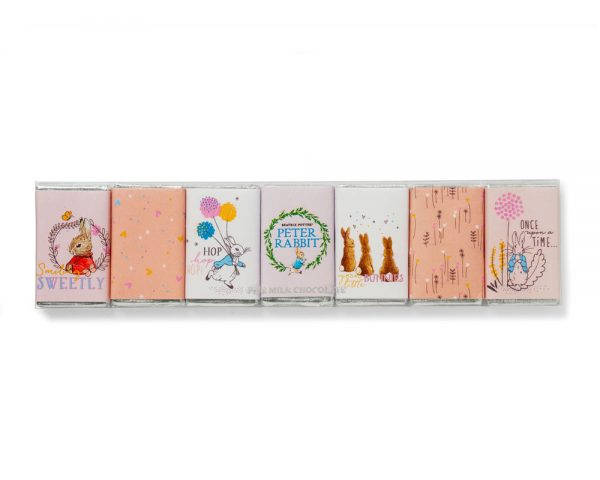 charbonnel peter rabbit chocolate bar set