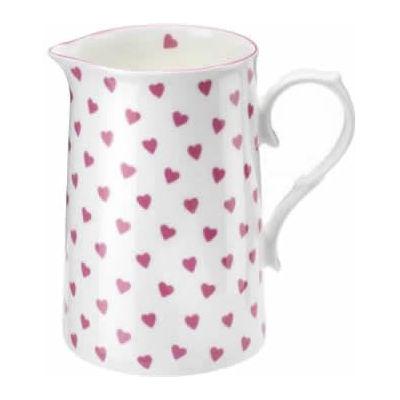 nina campbell pink heart large jug