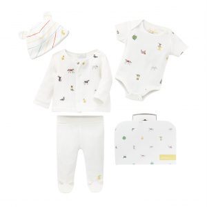 joules baby farm print outfit clothes
