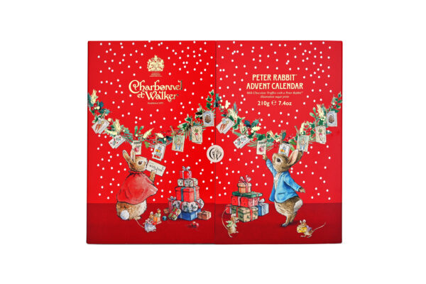 charbonnel peter rabbit advent calendar