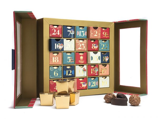 charbonnel et walker advent calendar open