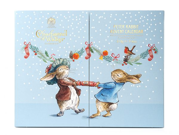 charbonnel walker peter rabbit advent calendar