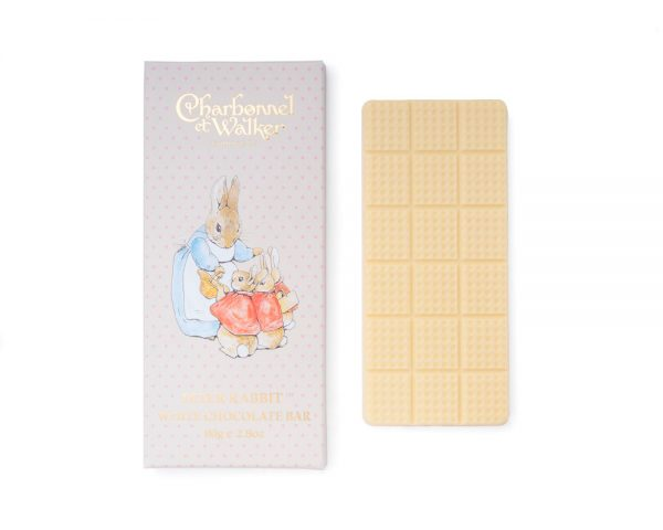peter rabbit white chocolate bar