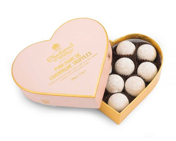 charbonnel pink champagne chocolate truffles
