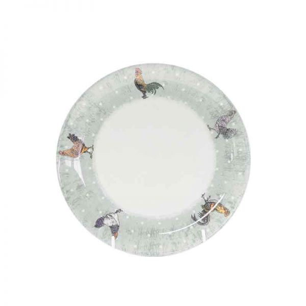 rooster side plate