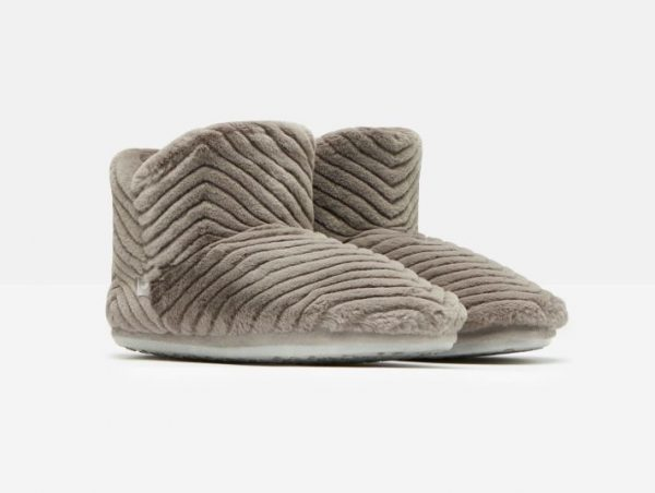 joules grey slippers boots