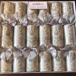 william morris thistle christmas crackers
