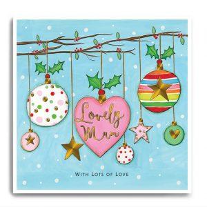 janie wilson lovley mum christmas card
