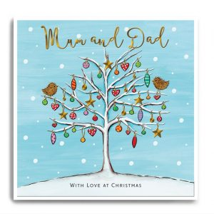 Janie wilson mum and dad card