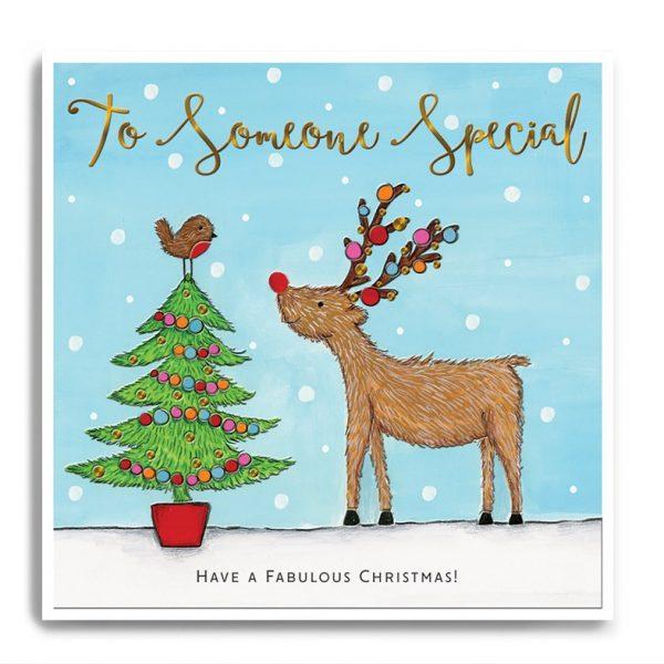 janie wilson someone special christmas card