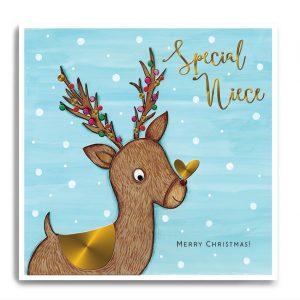 janie wilson special niece christmas card