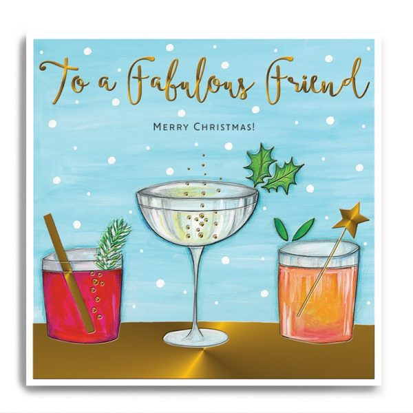 janie wilson fabulous friend Christmas card