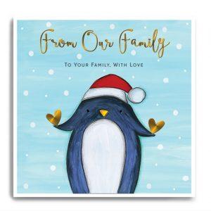 janie wilson family christmas card