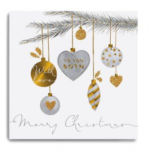 janie wilson merry christmas to you both card