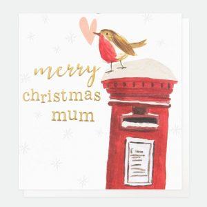 caroline gardner mum christmas card