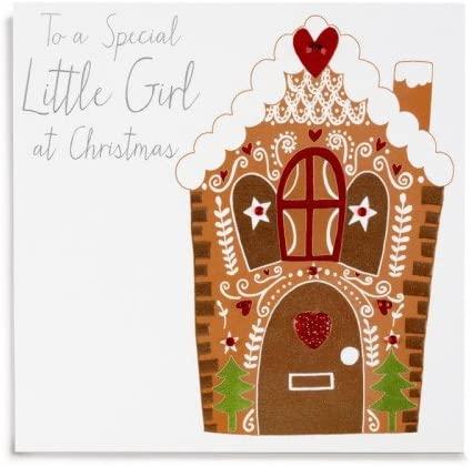 janie wilson girl christmas card