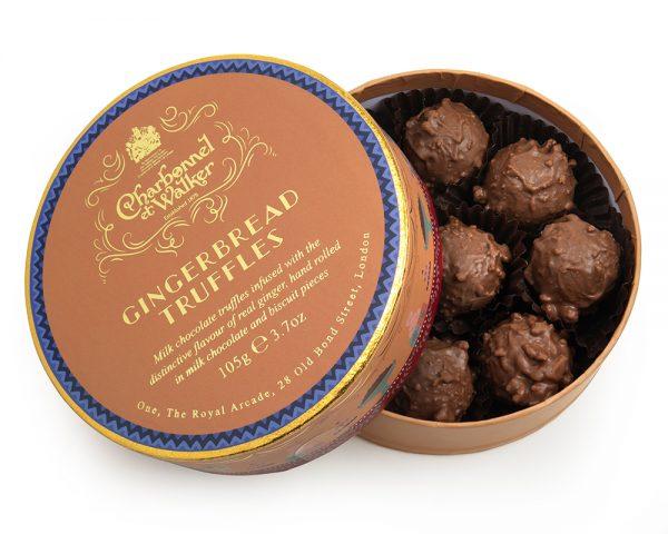 charbonnel gingerbread truffles