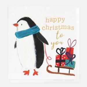 caroline gardner penguin Christmas cards