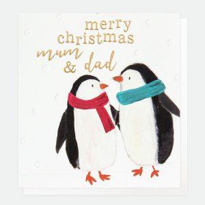 caroline gardner mum and dad christmas card