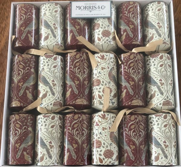 morris season by may christmas crackers