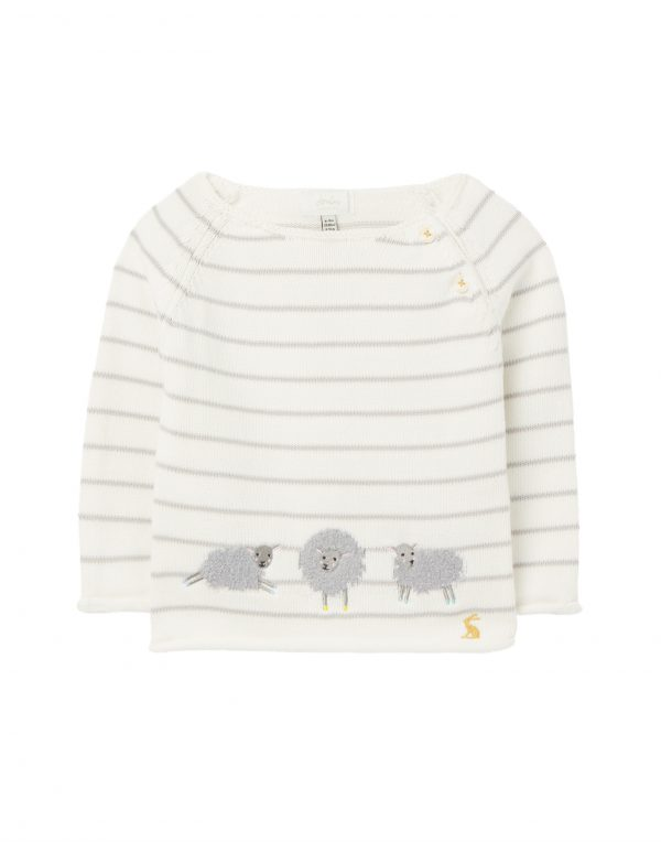 joules baby sheep jumper