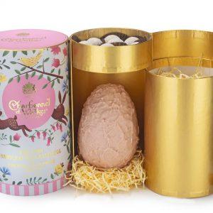 charbonnel pink champagne easter egg