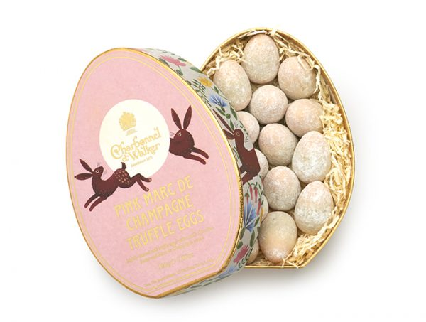 charbonnel pink champagne egg truffles