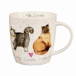 alex clark cats mug