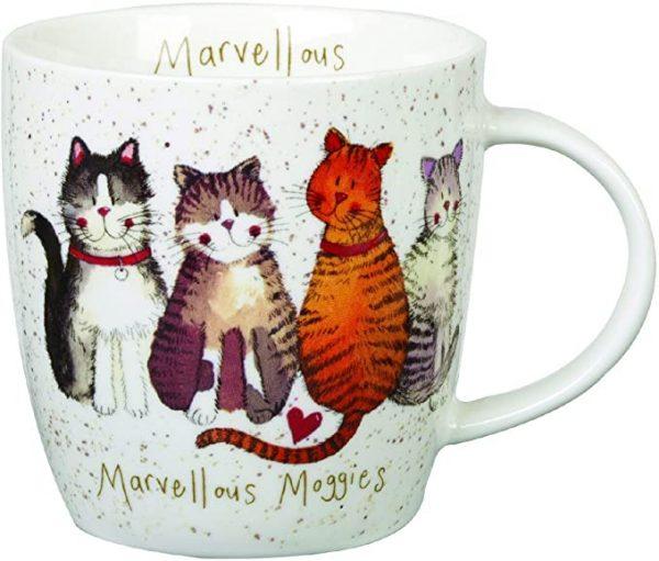alex clarks cat mugs