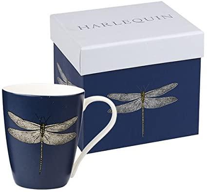 harlequin dragonfly mug