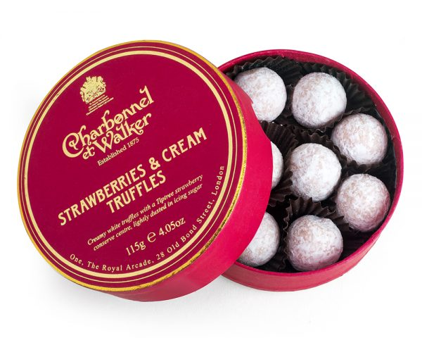 charbonnel strawberry and cream truffles