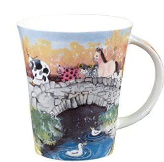alex clark animal bridge mug