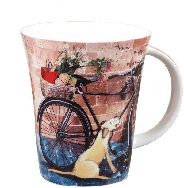 alex clark bicycle mug