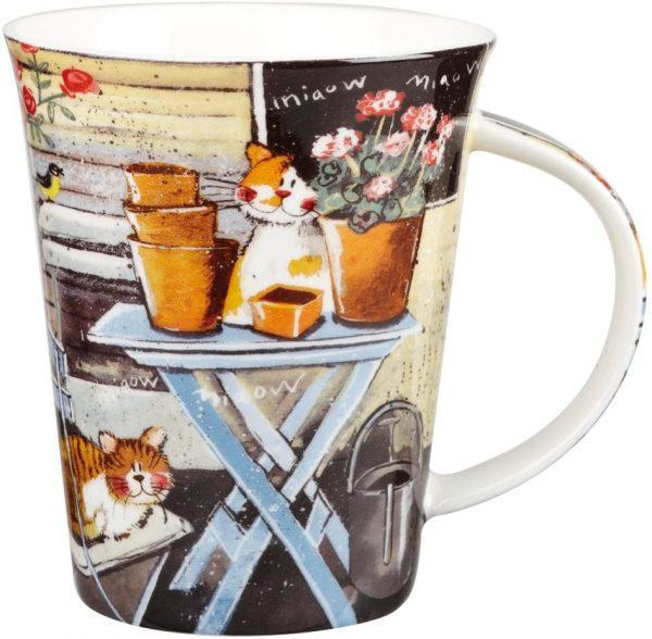 alex clark by the shed mug
