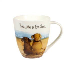 alex clark dog crush mug