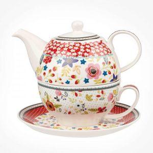 caravan trail tea for one