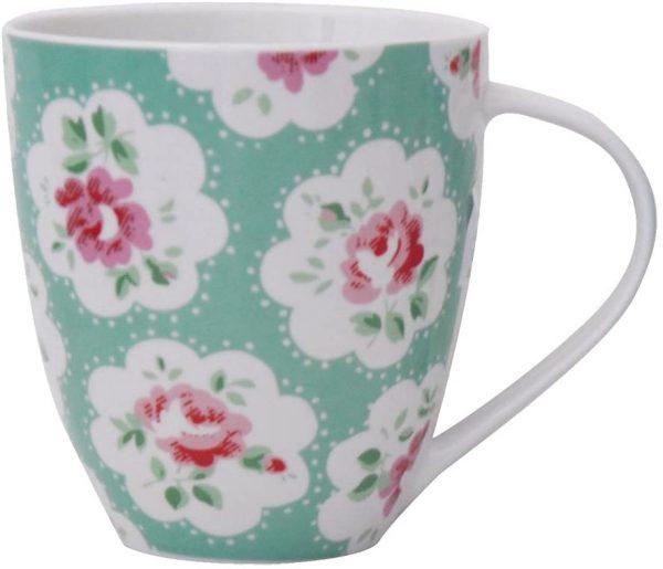 cath kidston provence green crush mug