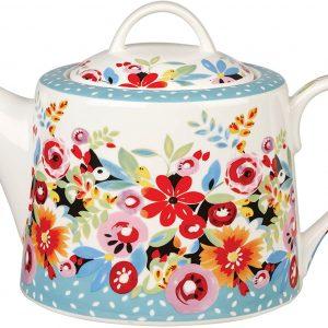 collier campbell flower drop teapot