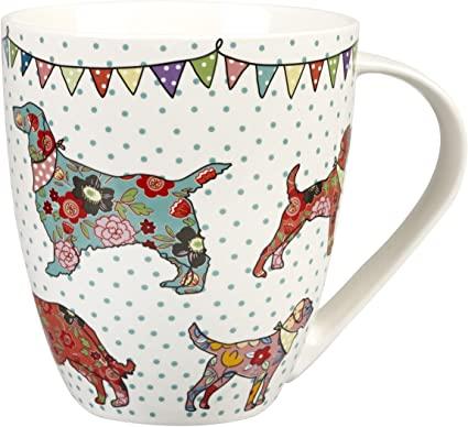 caravan trail festival dogs mugs