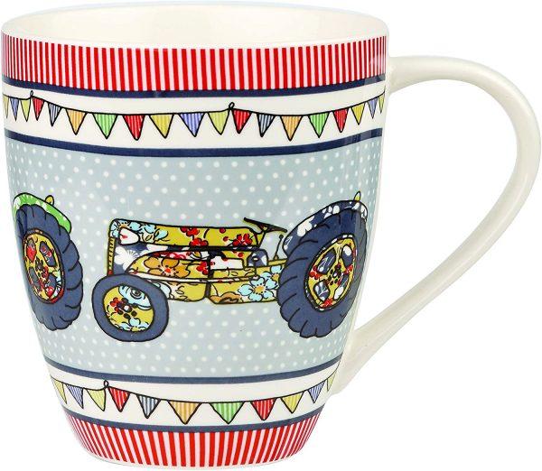 caravan trail festival tractors crush mug