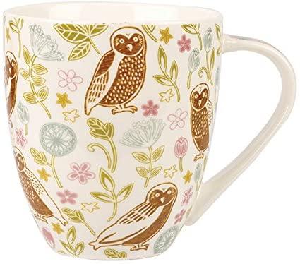 caravan trail forest owls crush mug