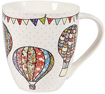 hot air balloons crush mug