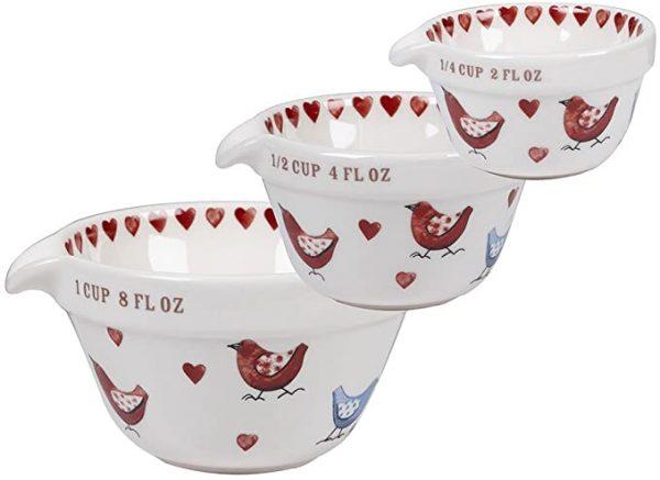 alex clark lovebirds measuring cups
