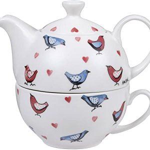 alex clark lovebirds tea for one