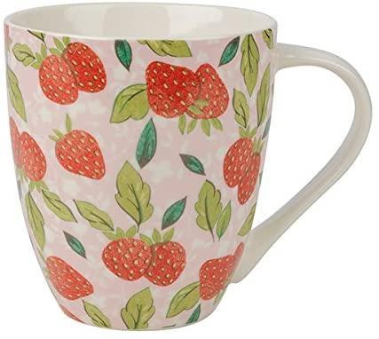 caravan trail strawberry harvest mug