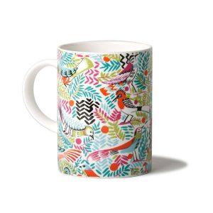 collier campbell tropical birds mug