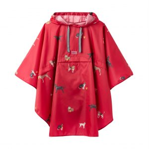 joules pink dog poncho