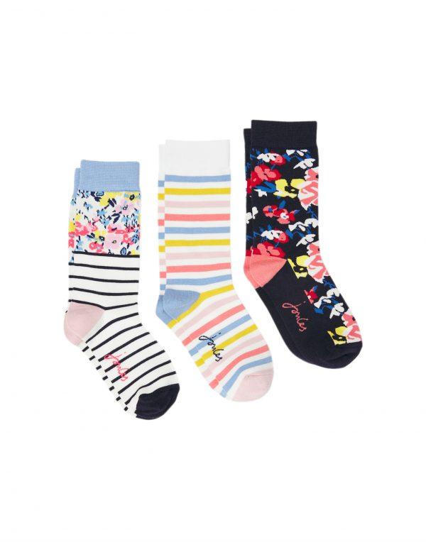 joules floral socks